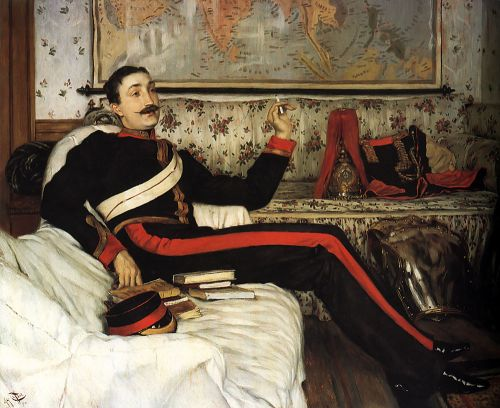Colonel Frederick Gustavus Barnaby by James Tissot