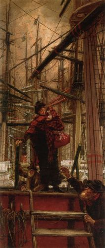 Emigrants by James Tissot