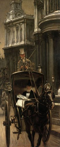 Going to the City by James Tissot