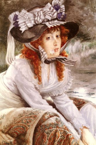 On The River by James Tissot