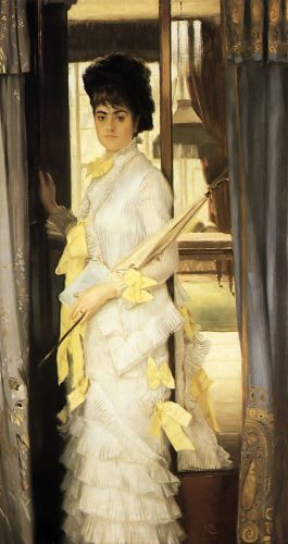 Portrait of Miss Lloyd by James Tissot