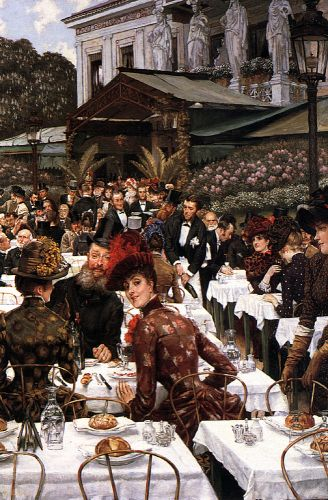 The Artist's Ladies by James Tissot