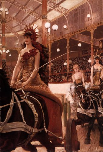 The Ladies of the Cars by James Tissot
