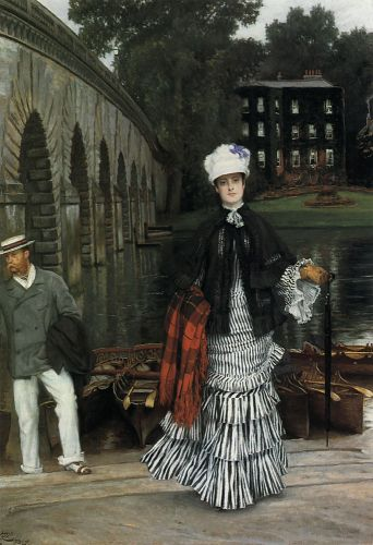 The Return from the Boating Trip by James Tissot