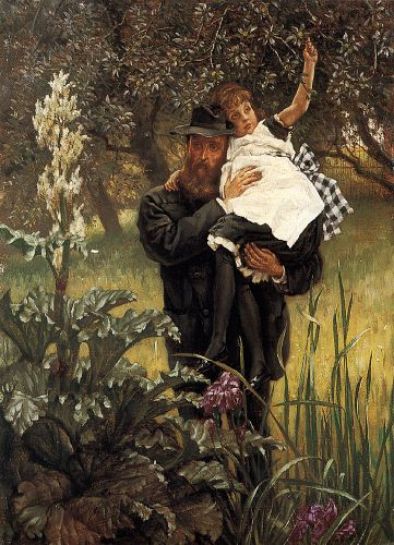 The Widower by James Tissot