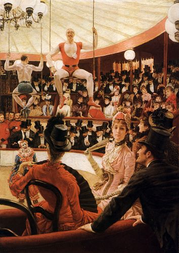 Women of Paris: The Circus Lover by James Tissot