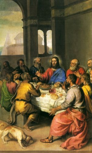 The Last Supper by Tiziano Vecellio Titian