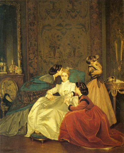 The Reluctant Bride by Auguste Toulmouche