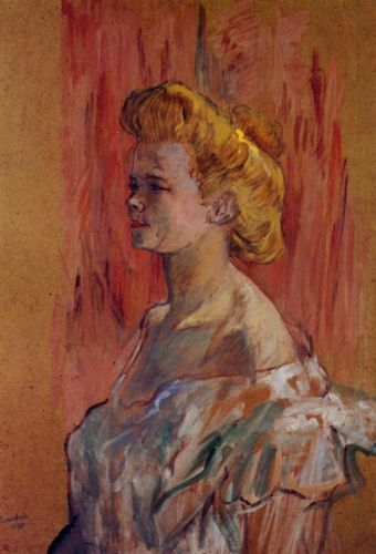 Prostitute: The Sphinx by Henri de Toulouse-Lautrec