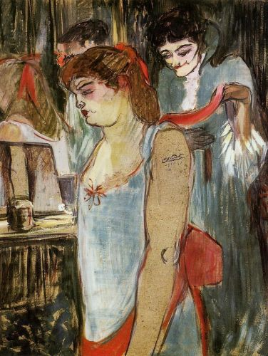The Tatooed Woman by Henri de Toulouse-Lautrec