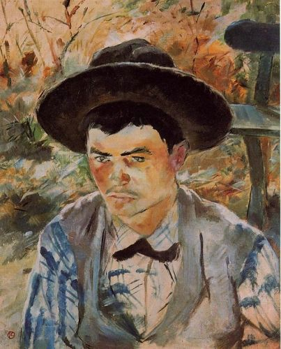 The Young Routy in Celeyran by Henri de Toulouse-Lautrec