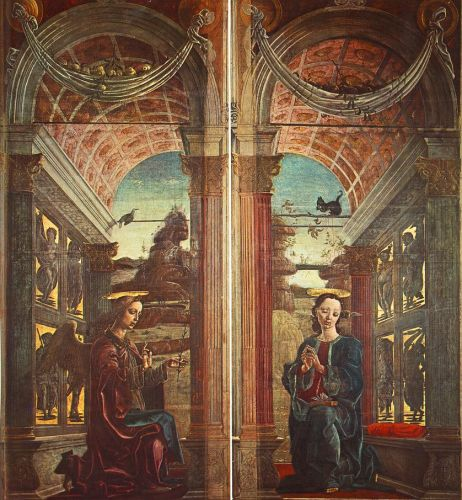 Annunciation by Cosmè Tura