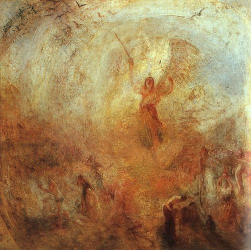 Angel Standing in a Storm by Joseph Mallord William Turner