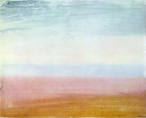 Colour Beginning by Joseph Mallord William Turner
