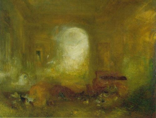 Interior at Petworth by Joseph Mallord William Turner