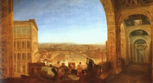 Rome from the Vatican by Joseph Mallord William Turner