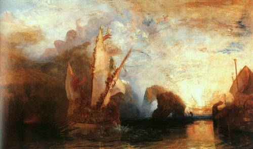 Ulysses Deriding Polyphemus by Joseph Mallord William Turner