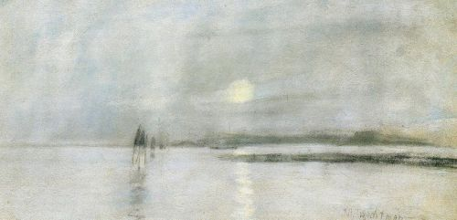 Moonlight, Flanders by John Henry Twachtman