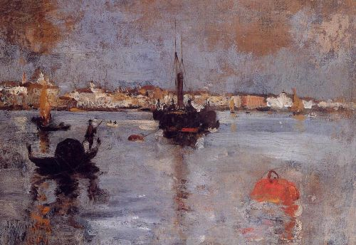 The Grand Canal, Venice by John Henry Twachtman