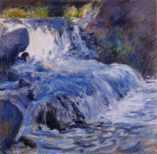 The Waterfall by John Henry Twachtman