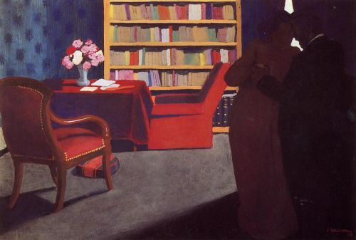 Private Conversation by Félix Vallotton