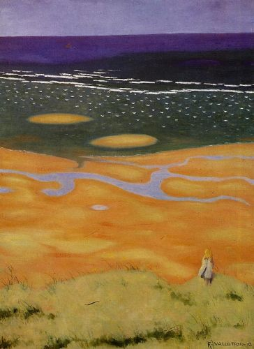 Rising Tide by Félix Vallotton