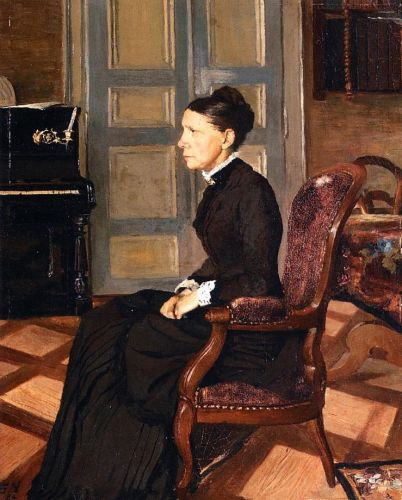 The Artist's Mother by Félix Vallotton
