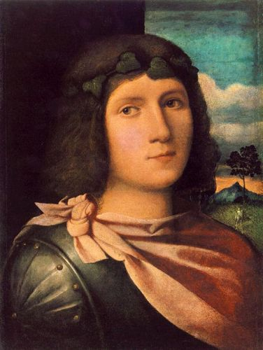 Portrait of a Young Man by Palma Il Vecchio
