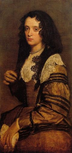 A Young Lady by Diego Velázquez