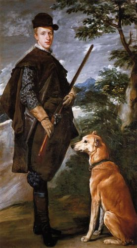 Cardinal Infante Don Fernando as a Hunter by Diego Velázquez