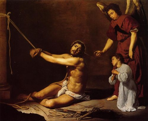 Christ and the Christian Soul by Diego Velázquez