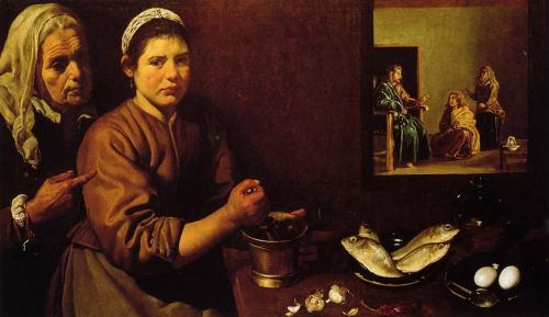 Christ in the House of Martha and Mary by Diego Velázquez