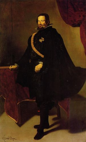 Count-Duke of Olivares by Diego Velázquez