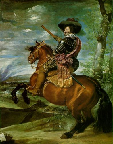 Count-Duke of Olivares on Horseback by Diego Velázquez