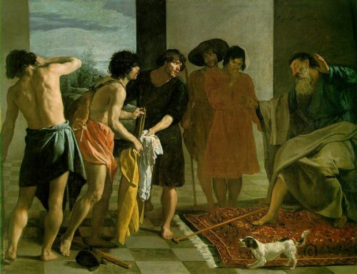 Joseph's Bloody Coat Brought to Jacob by Diego Velázquez