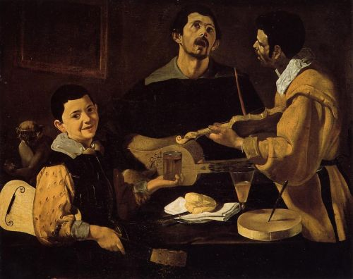 Musical Trio by Diego Velázquez