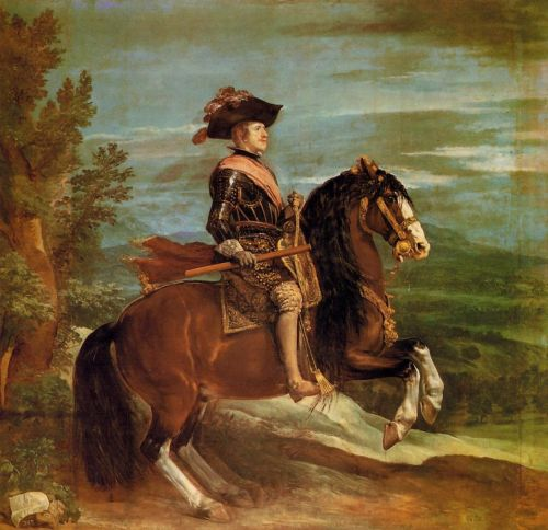 Philip IV on Horseback by Diego Velázquez