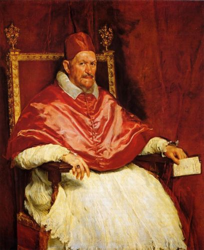 Pope Innocent X by Diego Velázquez