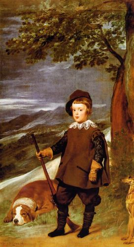 Prince Baltasar Carlos as a Hunter by Diego Velázquez