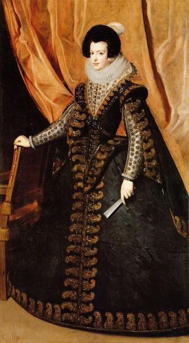 Queen Isabel by Diego Velázquez