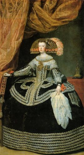 Queen Mariana by Diego Velázquez