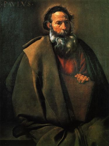 Saint Paul by Diego Velázquez