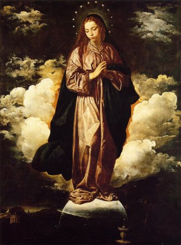 The Immaculate Conception by Diego Velázquez