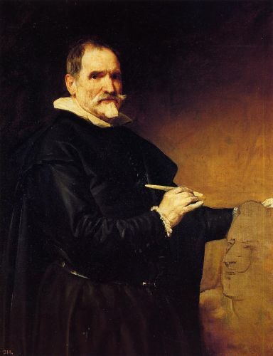 The Sculptor Juan Martinez Montañés by Diego Velázquez