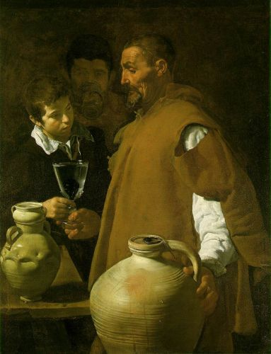 The Waterseller of Seville by Diego Velázquez