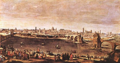 View of Saragoza by Diego Velázquez