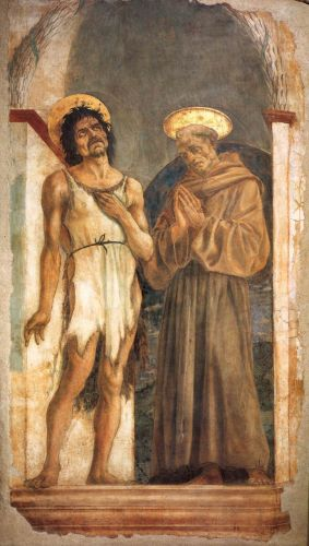 St John the Baptist and St Francis by Domenico Veneziano