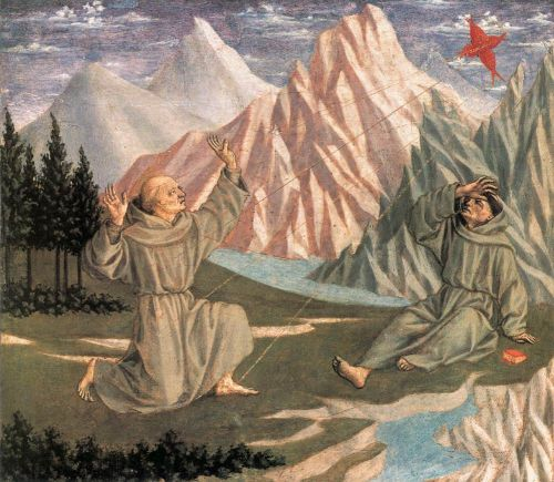 The Stigmatization of St Francis by Domenico Veneziano