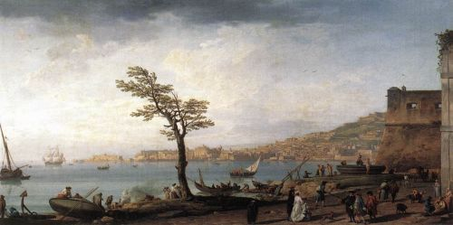 View of Naples by Claude-Joseph Vernet