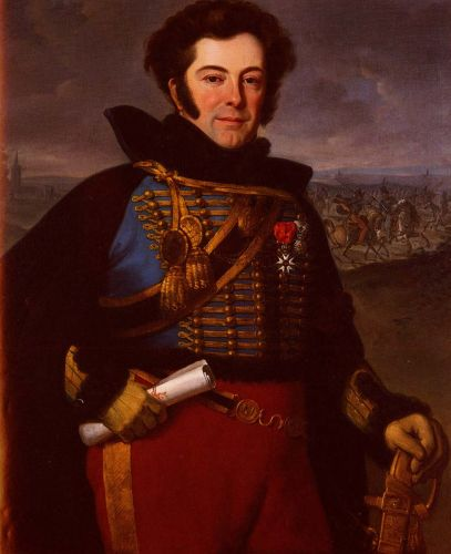 Portrait Of Lieutenant Colonel by Horace Vernet